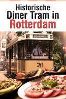 Historische Diner Tram in Rotterdam