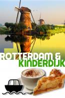 Rotterdam en Kinderdijk