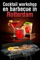 Cocktail workshop en Barbecue in Rotterdam