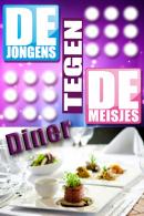 Jongens tegen de Meisjes Diner in Rotterdam