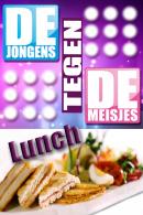 Jongens tegen de Meisjes lunch in Rotterdam